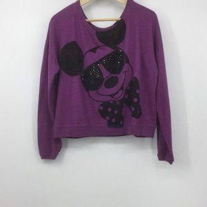 Disney Womens/Juniors Mickey Mouse Sweater Sz L